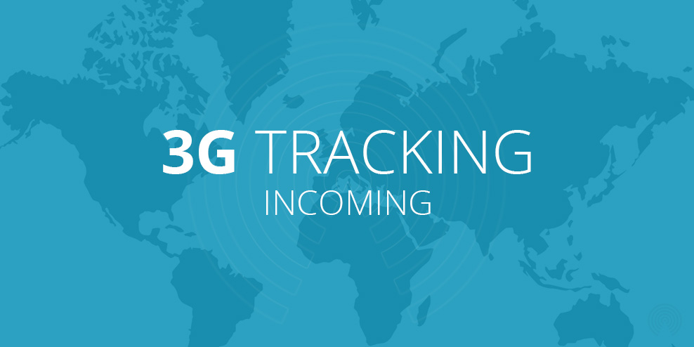 3G tracking