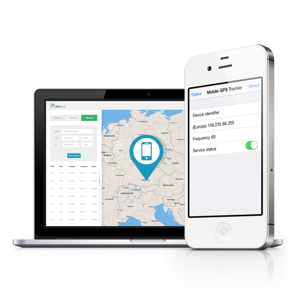 iPhone GPS tracking  Download Iphone tracking app free | GPSWOX