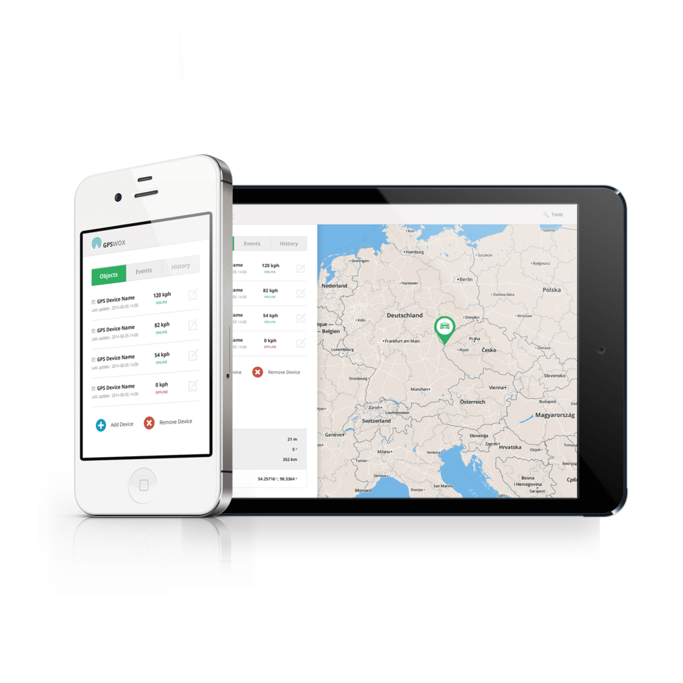 Android GPS tracking app, download it for free | GPSWOX