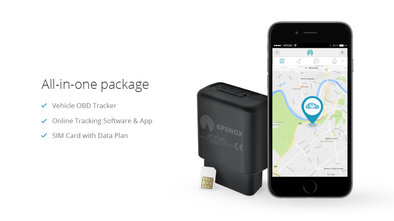GPSWOX 3G OBDII Tracker (All-in-one Package)