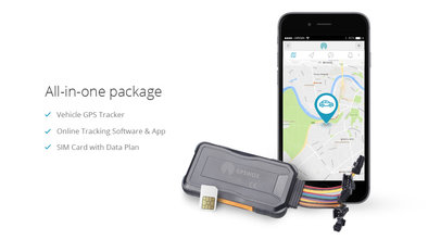 GPSWOX 3G Vehicle Tracker (All-in-one Package)